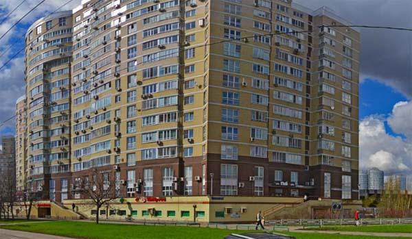 улица Покрышкина, д. 8, корп. 3