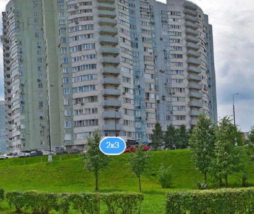 Москва, улица Академика Анохина, д. 2, корп. 3
