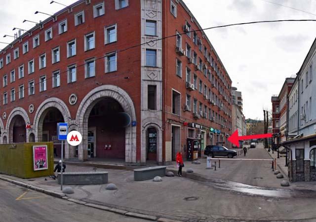 Москва, Цветной бульвар, д. 17- метро Цветной бульвар фото
